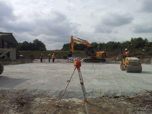 Brownfield site being redeveloped