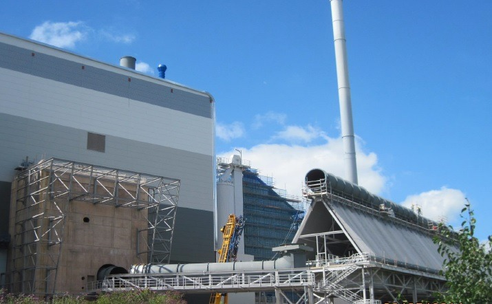 MVV building energy from waste plant in Davenport
