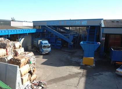Edwards recycling facility