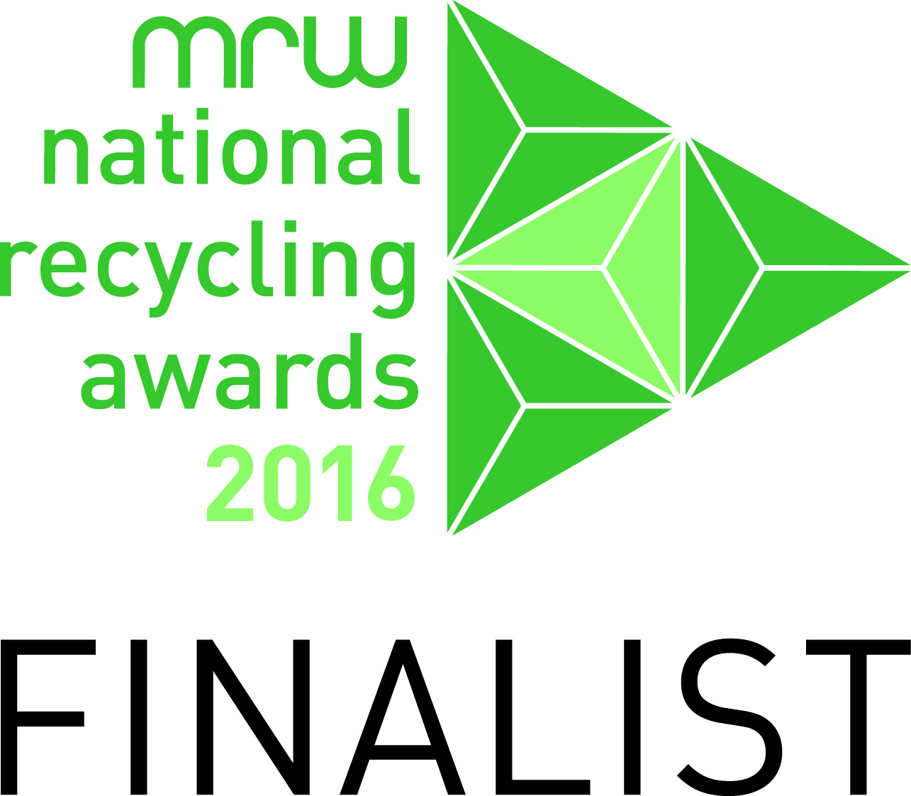 MRW National Recycling Awards finalist logo 2016