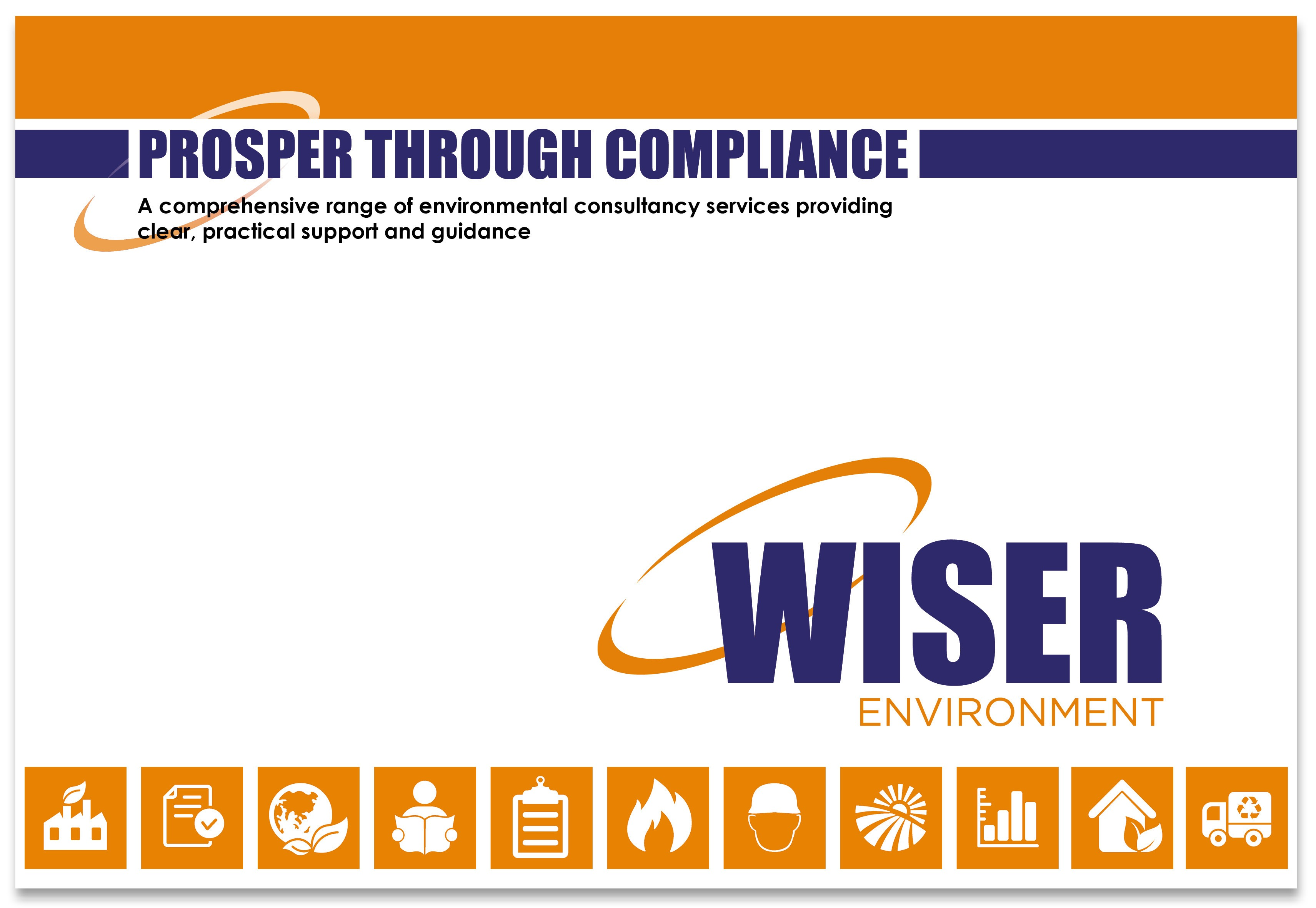 Wiser Environment brochure cover