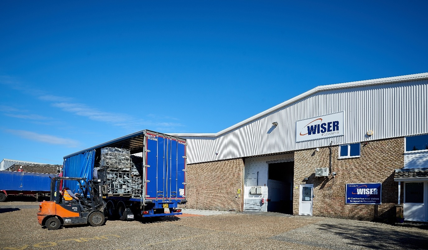 Wiser Recycling's new facility for waste electrical and electronic equipment in Thetford