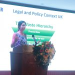 Wiser Environment's Joana Santos speaking at British Council Policy Dialogue in Vietnam
