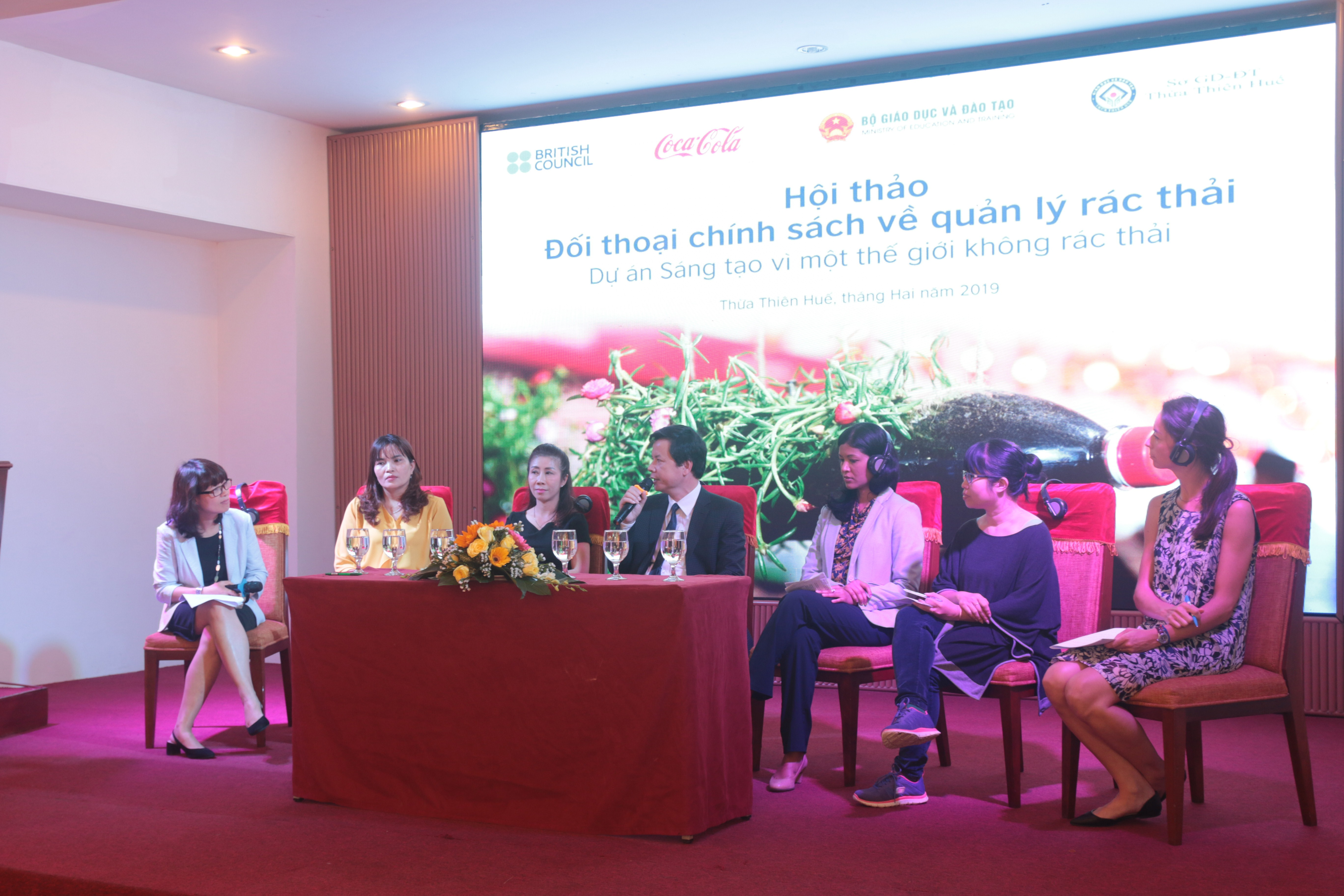 British Council Waste Management Policy Dialogue in Vietnam