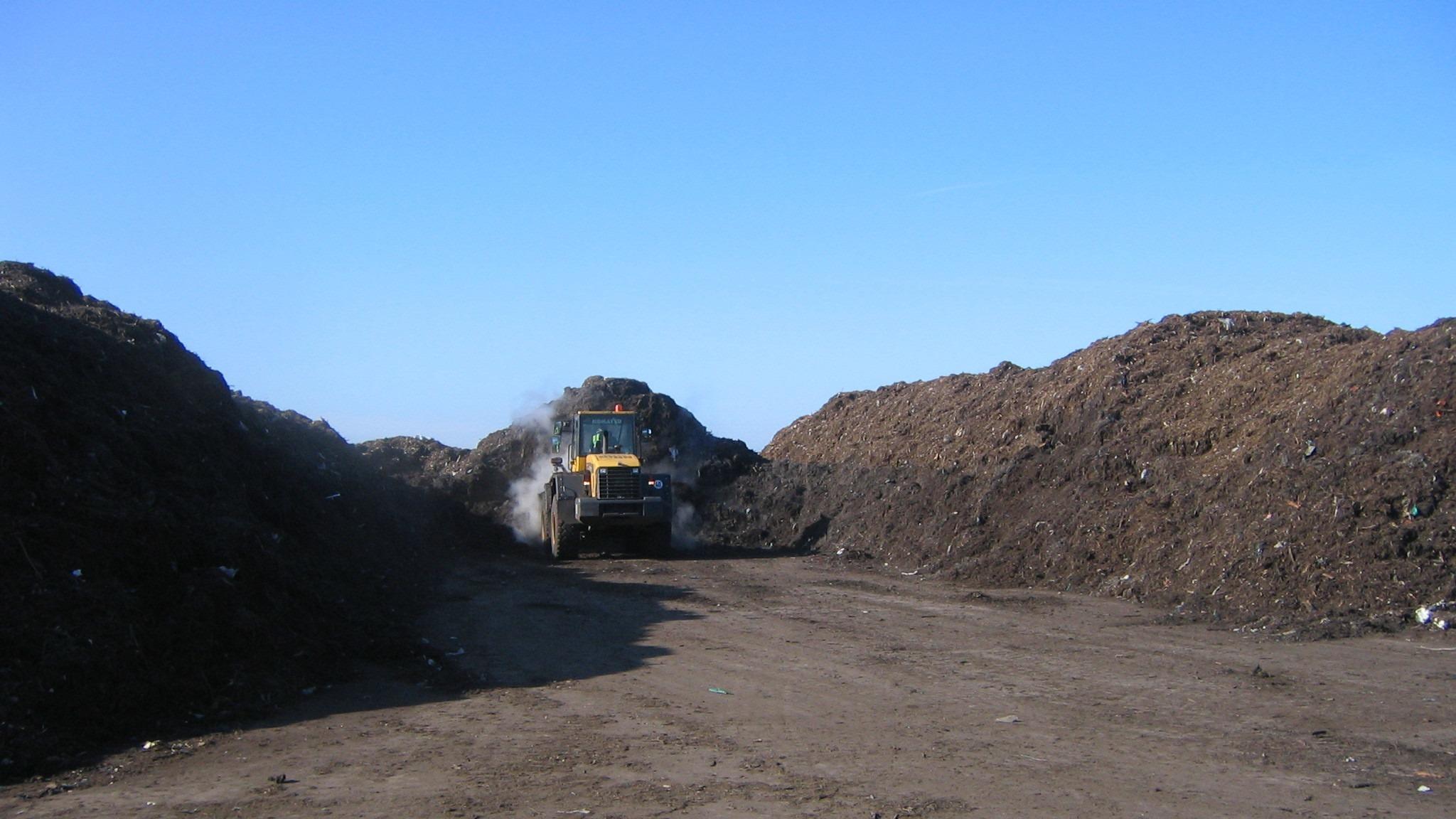 Open Compost Maintenance