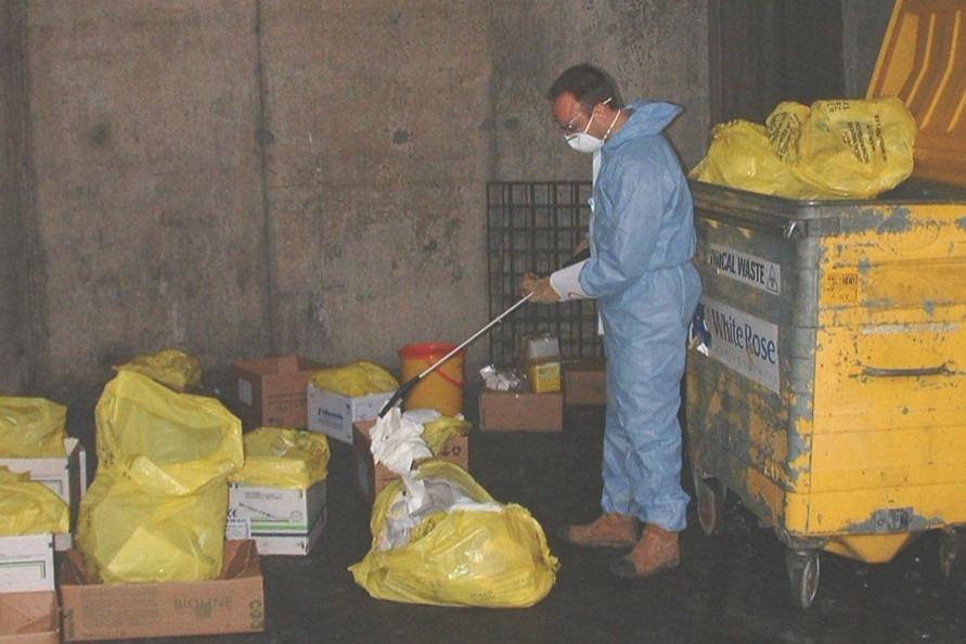Waste Sampling at a Healthcare Institution
