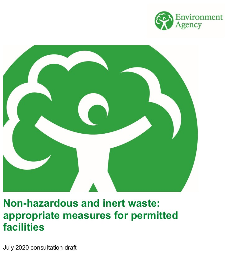 Appropriate Measures for Permitted Facilities that take Non-Hazardous and Inert Waste