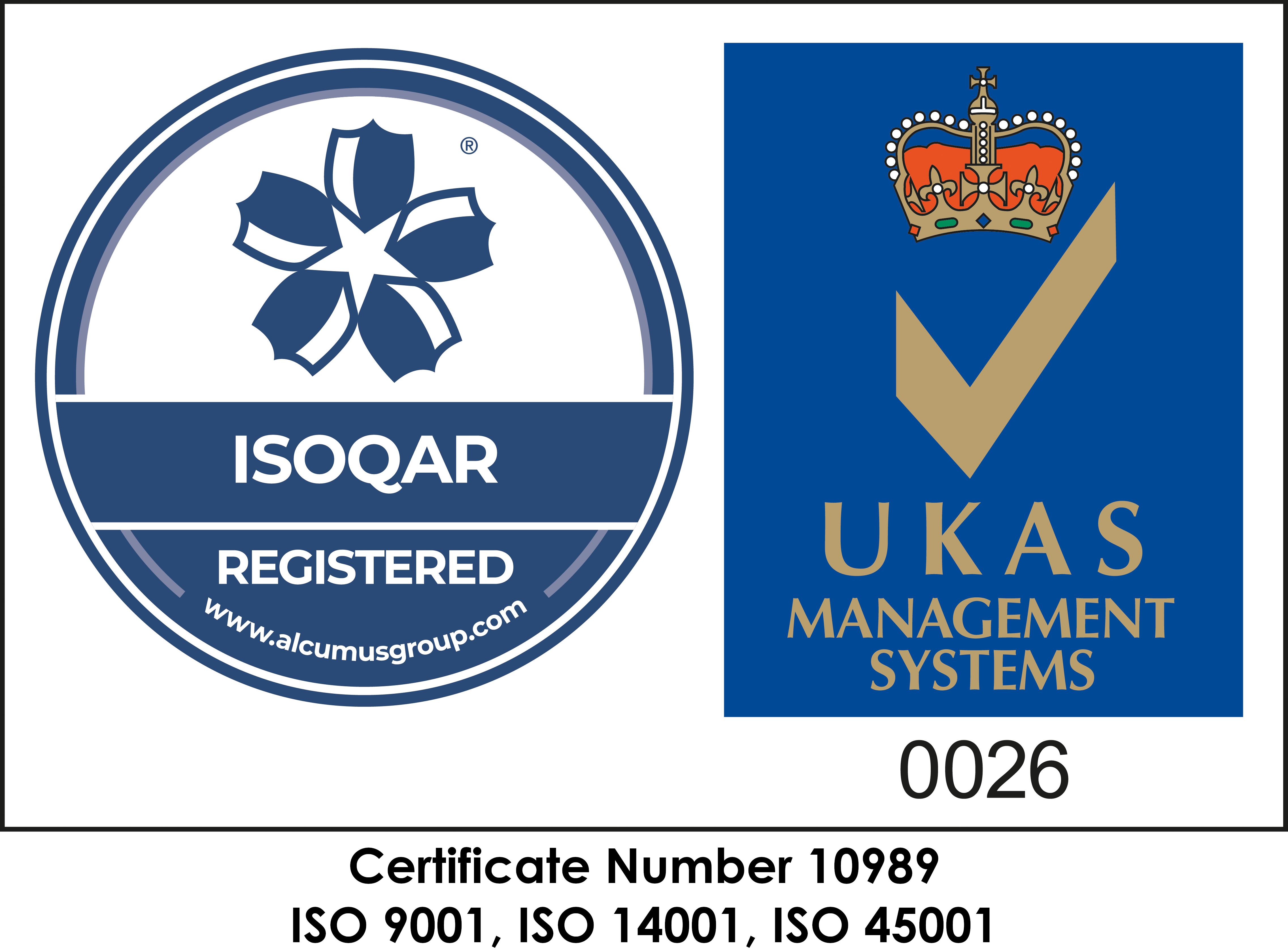 Wiser's ISOQAR Management System Logo